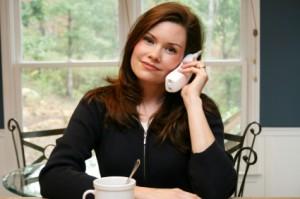 entrevue téléphonique avec une gardienne