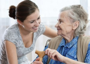 emploi à temps partiel aide personnes âgées
