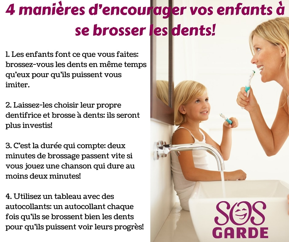 4 manières d'encourager vos enfants à se brosser les dents!